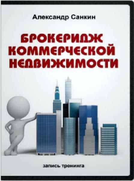 Брокеридж коммерческой недвижимости Александра Санкина